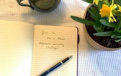 It's almost spring: join me for a FREE 5 day meditation and writing challenge!