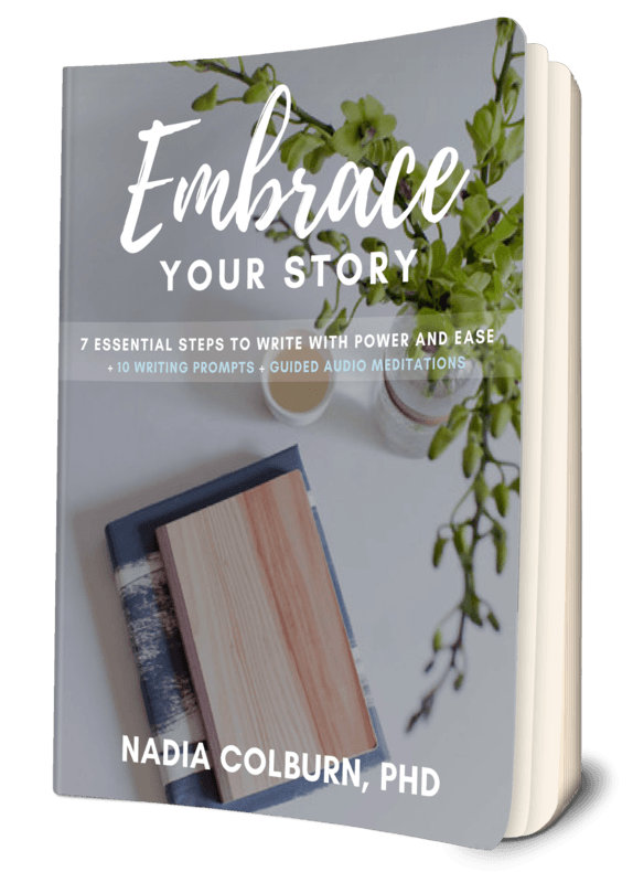 Thank You - EMBRACE YOUR STORY 1