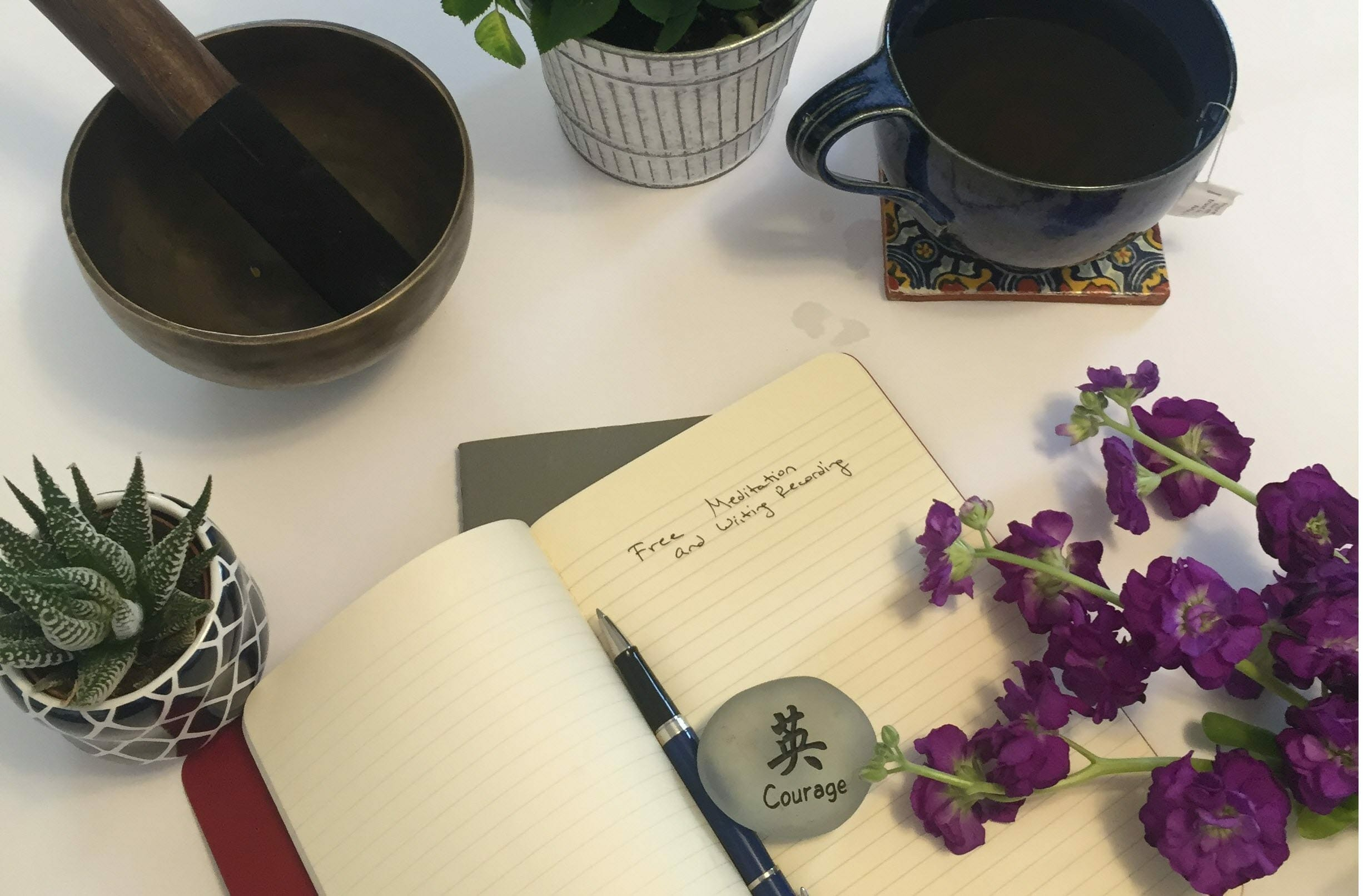 Meditation and Writing Challenge (pre-day 1) 3