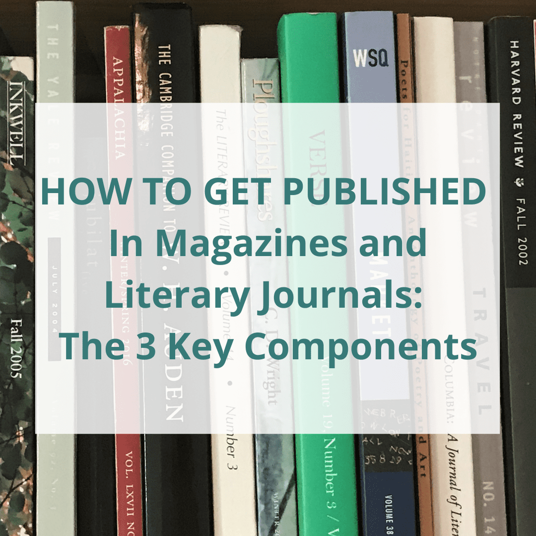 how to get published in literary magazines