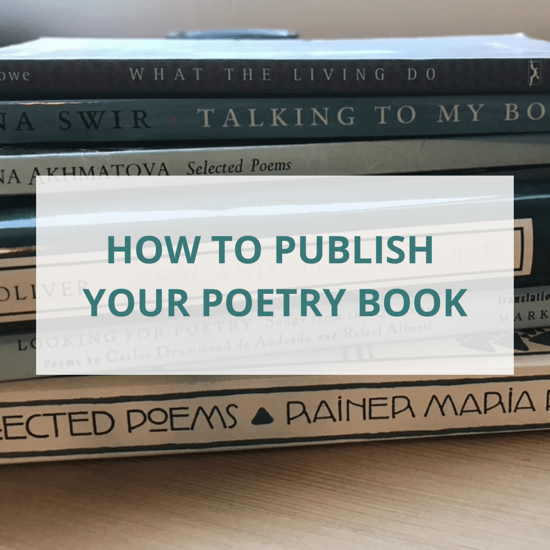 how to publish your poetry book