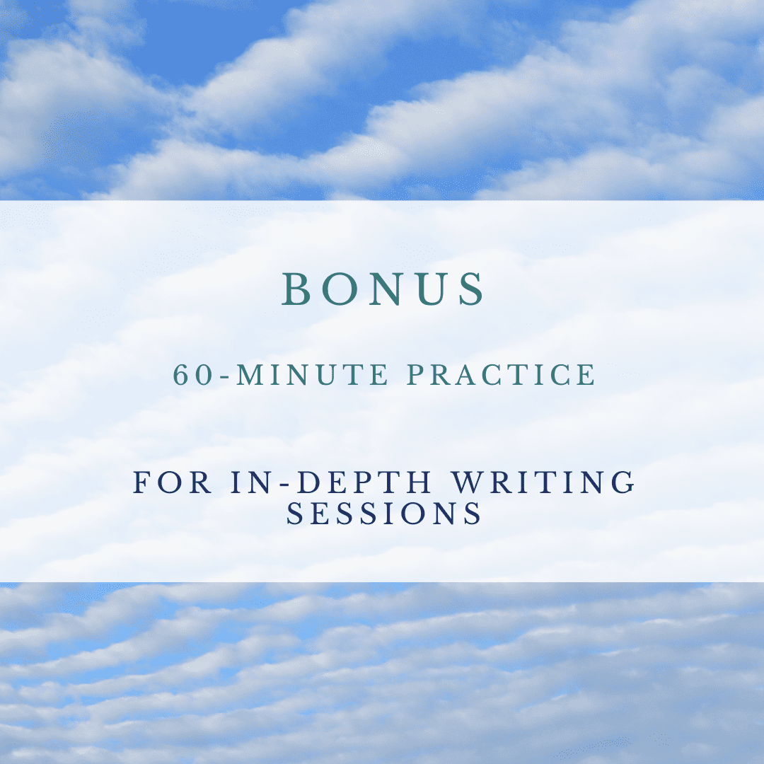 Write From Your Center 31 Day Mindfulness Writing Course 3