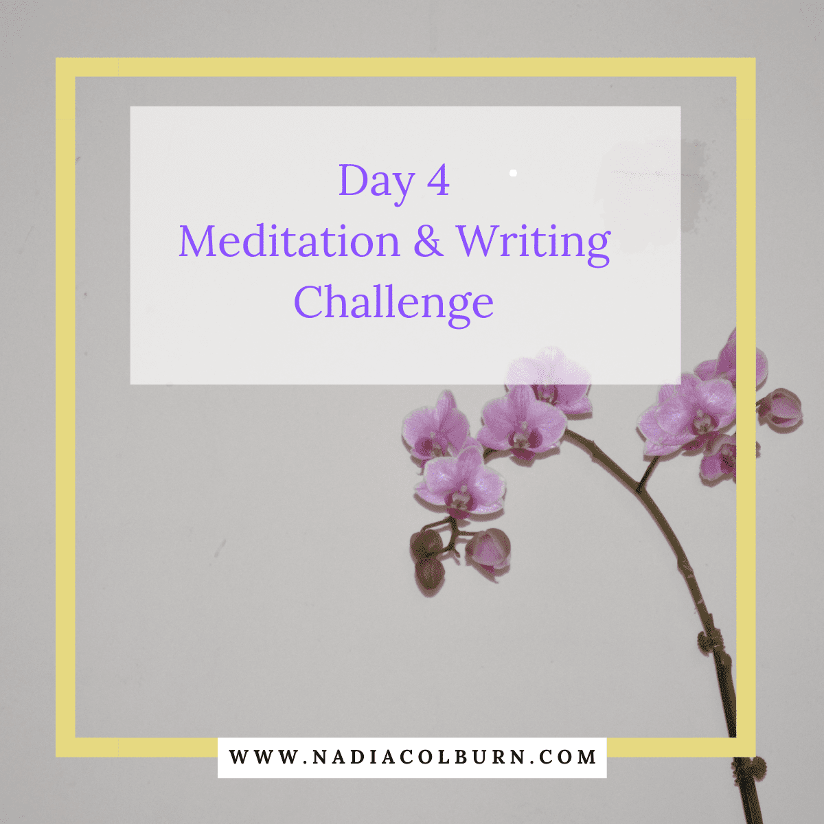 2021 Meditation and Writing Challenge Day 4 7