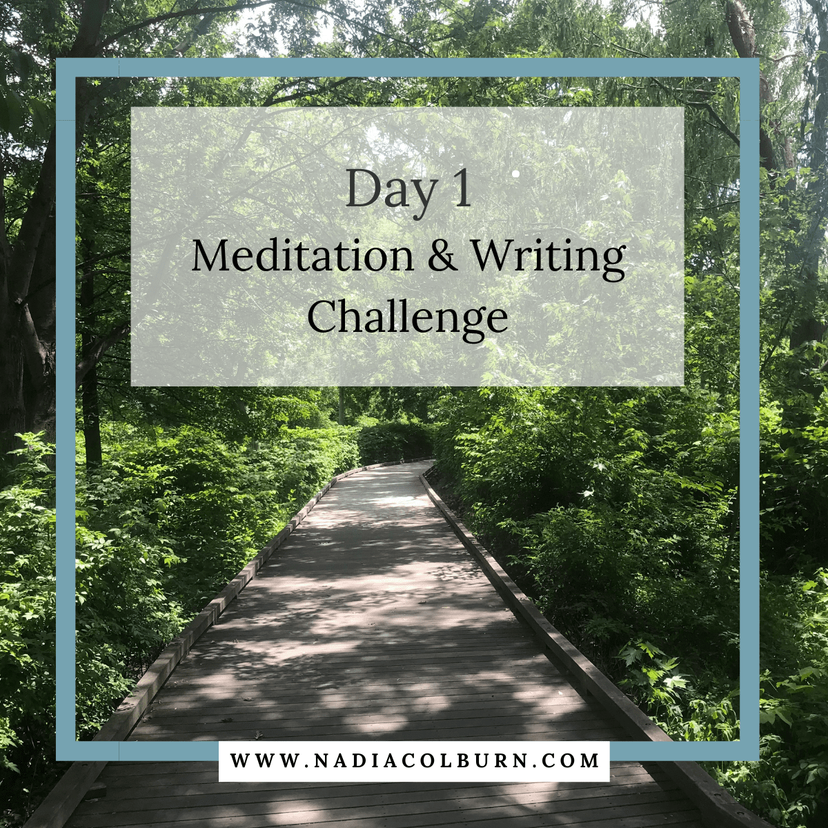 spring meditation and writing challenge day 4 5