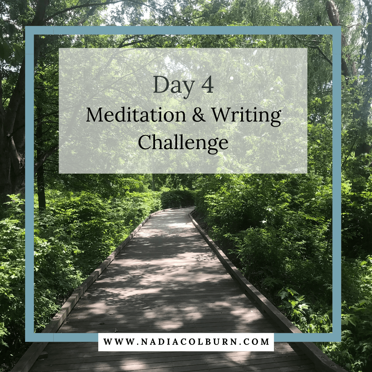 spring meditation and writing challenge day 4 7